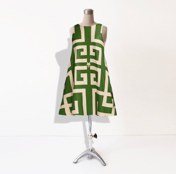 Buckhead MME. Dress Green
