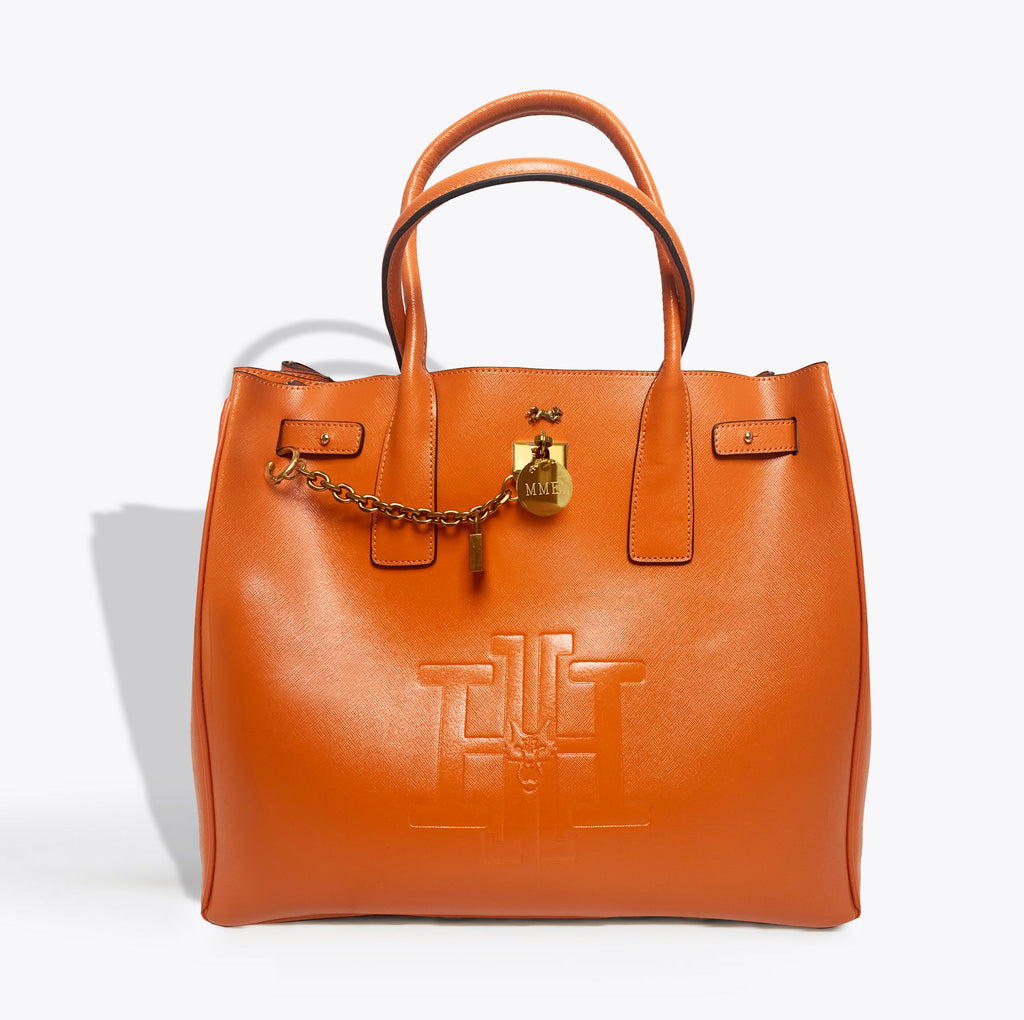 THE HERITAGE TOTE  in  Clementine GRAND