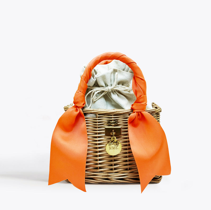The Little Royce Tote - Clementine