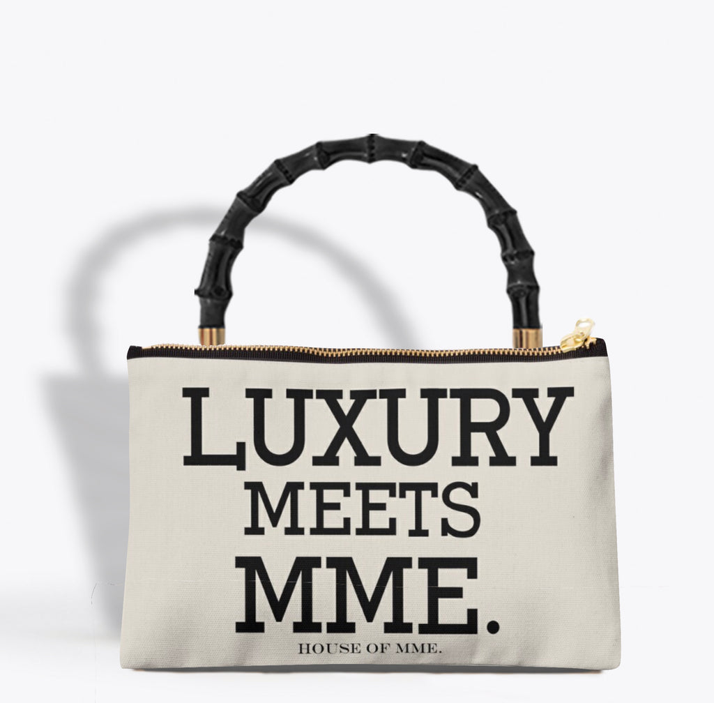 """LUXURY MEETS MME."" Pouchette"