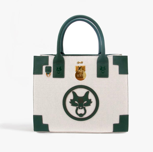 THE STAFFORDSHIRE TOTE in Canvas
