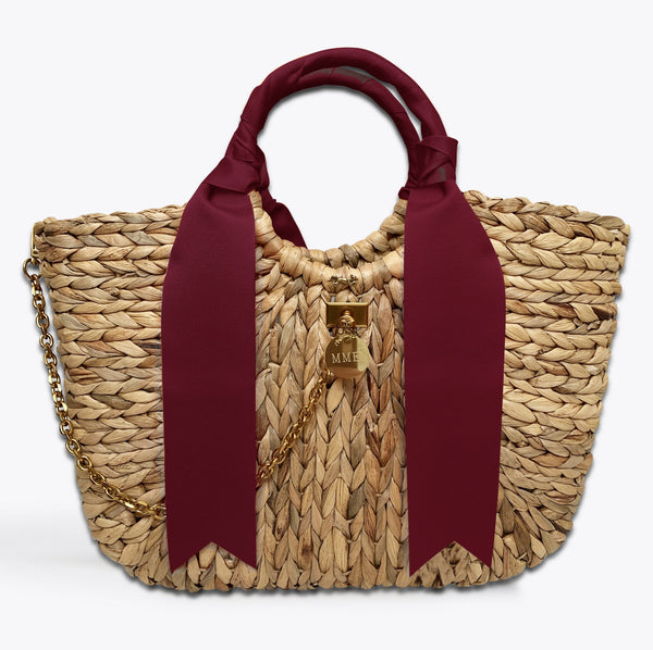 MME. BENTLEY TOTE BURGUNDY