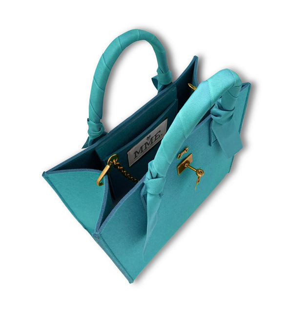 "THE BRUNCH TOTE in  ""TIFFANY"" GRAND"