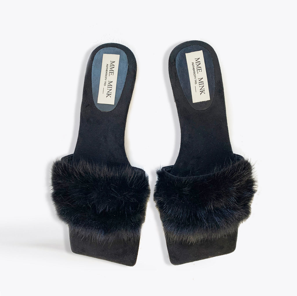 MME.MINK MULES