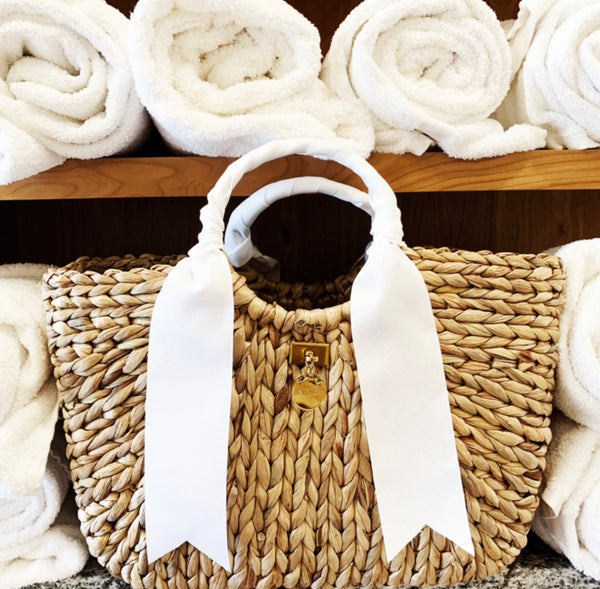 MME. BENTLEY TOTE WHITE