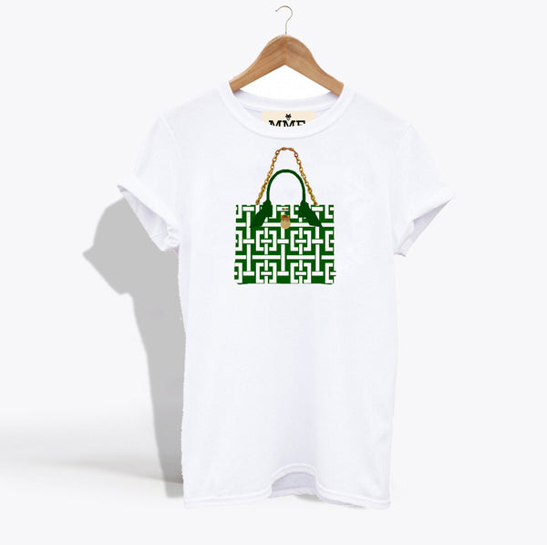 MME. BRUNCH TOTE TEE - Basket Weave