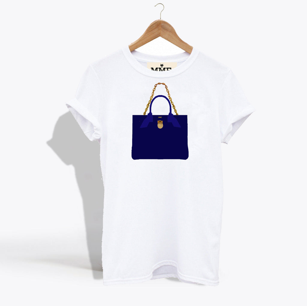 MME. BRUNCH TOTE TEE - NAVY