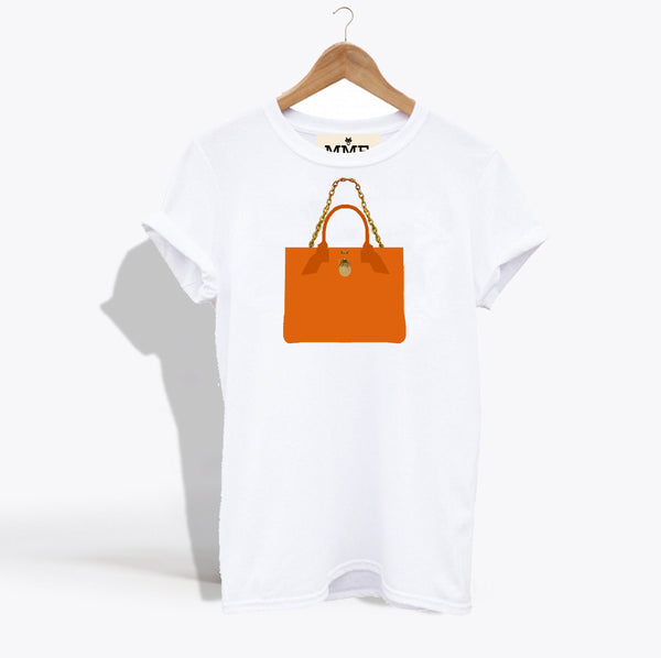 MME. BRUNCH TOTE TEE - CLEMENTINE