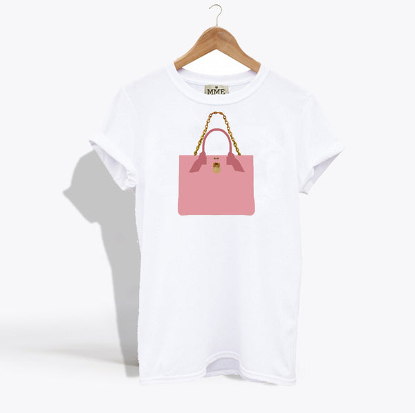 MME. BRUNCH TOTE TEE - Rose