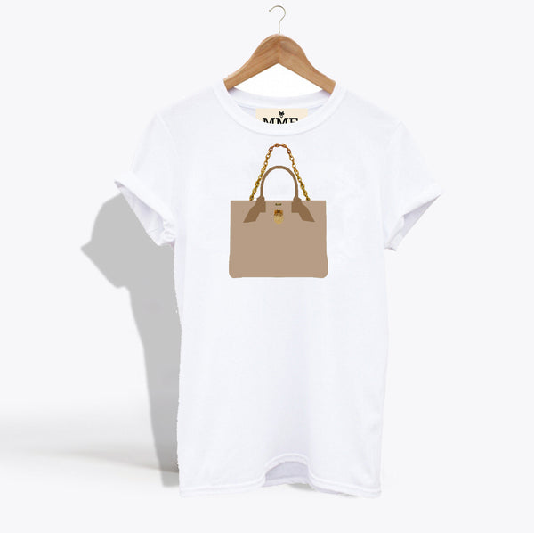 MME. BRUNCH TOTE TEE - NUDE