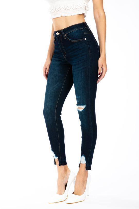 Kan Can Emilia High Rise Ankle Skinny