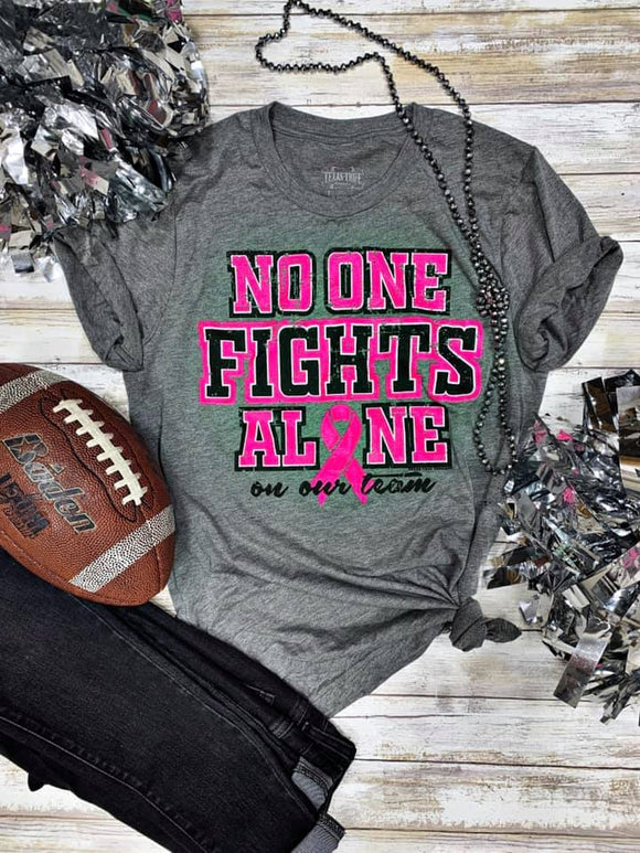 No One Fights Alone Graphic Tee