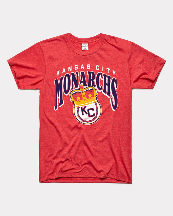 Kansas City Monarchs Crown Tee by Charlie Hustle