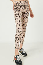 Girl's Dotted Active Leggings