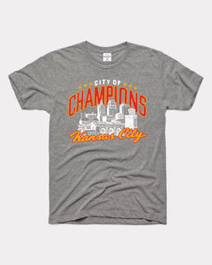 City of Champions Tee by Charlie Hustle