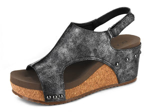Corky's Ingrid Casual Sandals in Black