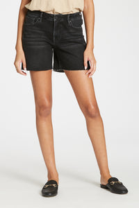 Orleans Julian High Rise Cut Off Hem Shorts by Dear John