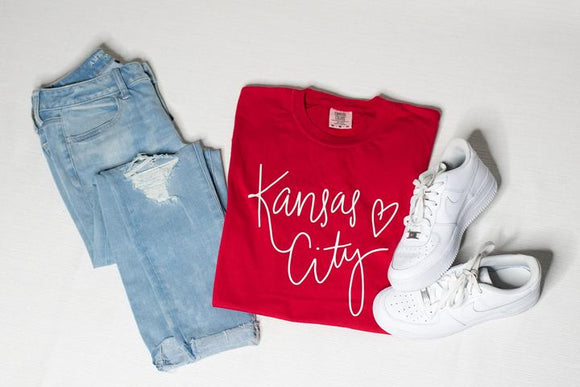 Kansas City Love Graphic Tee