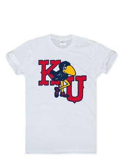 University of Kansas Marching Jayhawks by Charlie Hustle