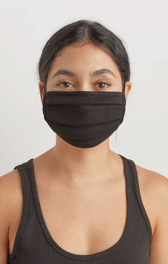 Black French Terry Mask by Z Supply