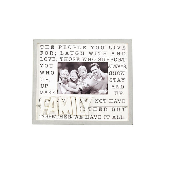Mud Pie Family Definition Frame