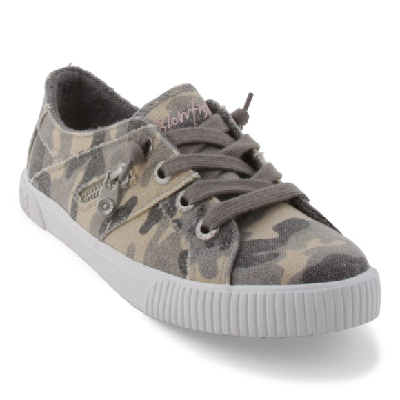 Fruit Sneaker in Gray Urban Camo