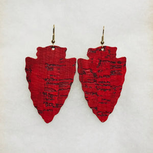 Red Cork Arrowheads