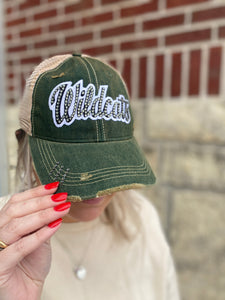 Game Day Vintage Trucker Hat with Bling