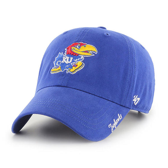 Kansas Jayhawks Miata 47 Clean Up Women Hat