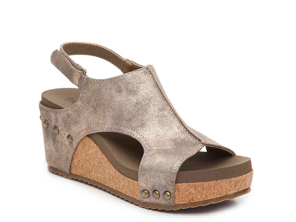 Corky's London Sandal in Bronze