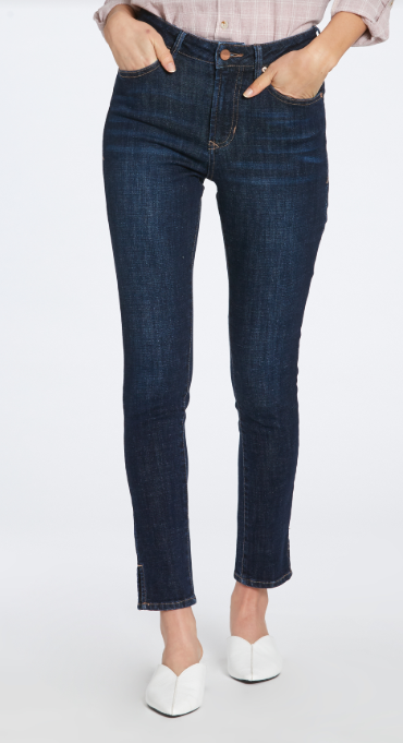 Olivia High Rise Skinny Jeans in Stillwell