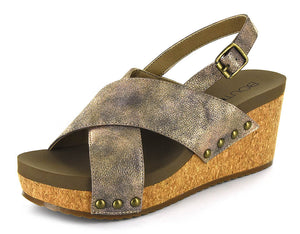 Corky's Teresa Sandals in Bronze