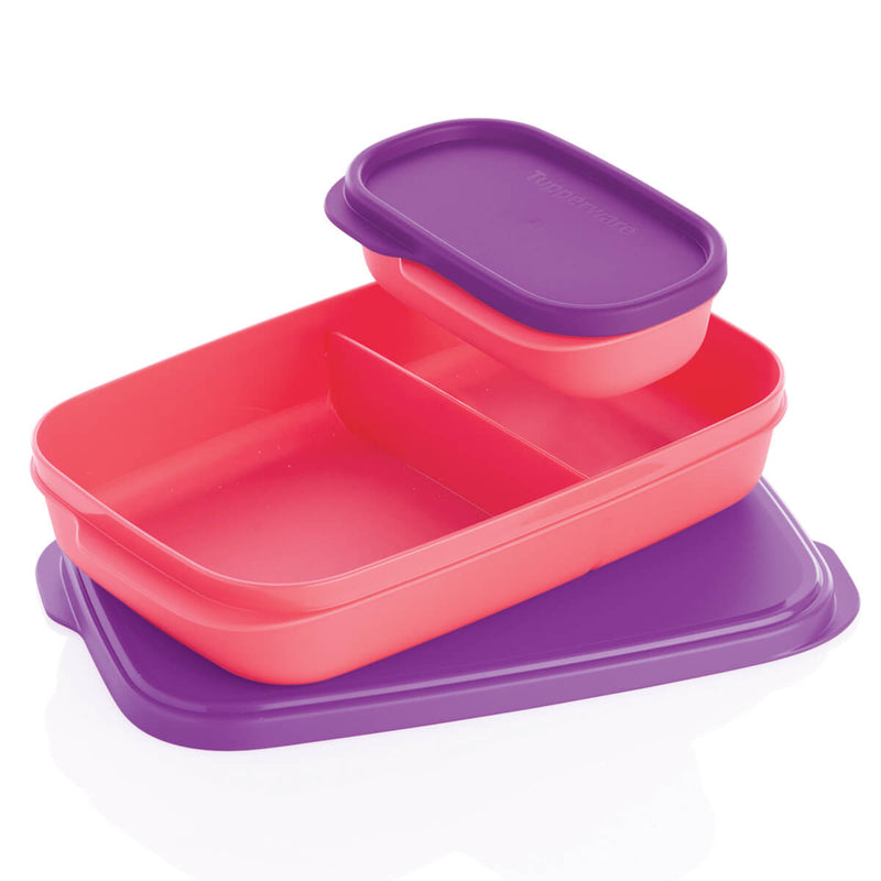 Paquete Eco Twist 2 L Rosa - Slim Lunch - Tupperware