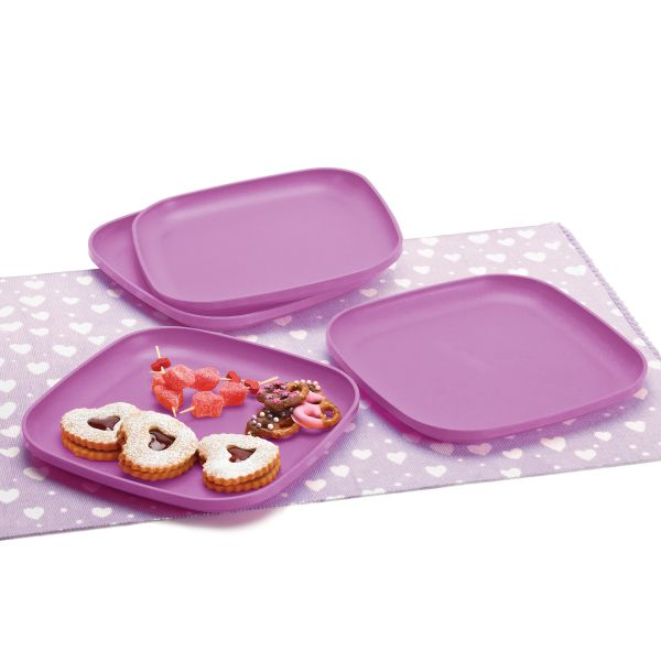 Cuadriplatos (4), Tupperware