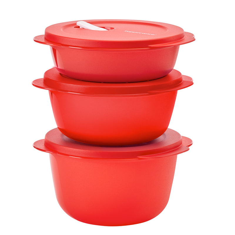 Paquete de recipientes herméticos - Micro Flash Redondos - Tupperware