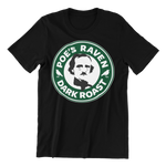 Edgar Allen Poe Coffee Shop T Shirt