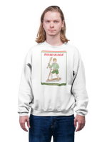 Evil Elementary Road Rage Adult Horror Sweatshirt