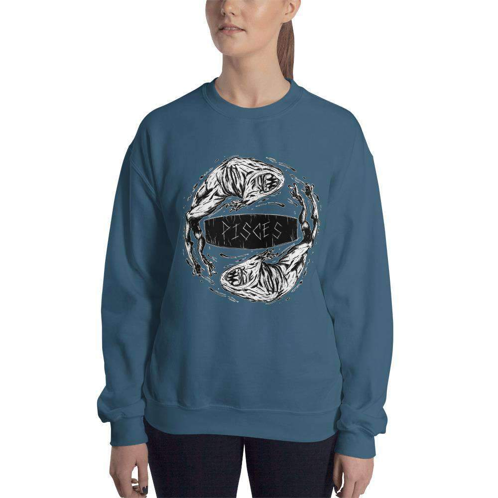 HorrorScopes Sweatshirt Pisces Adult-Nightmare Threads