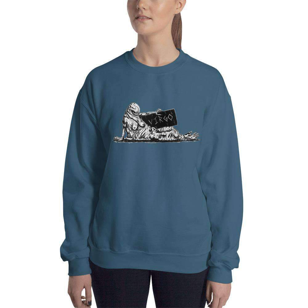 HorrorScopes Sweatshirt Virgo Adult-Nightmare Threads