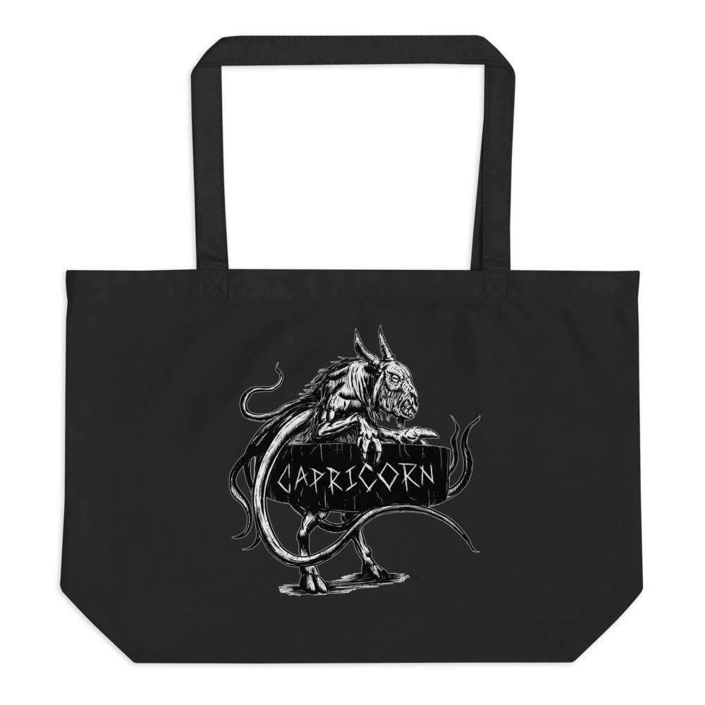 Horrorscopes Tote Bag Capricorn Accessory-Nightmare Threads