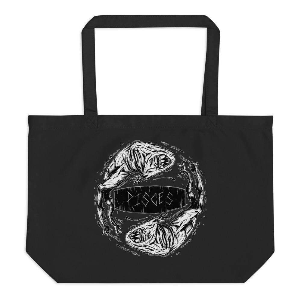 Horrorscopes Tote Bag Pisces Accessory