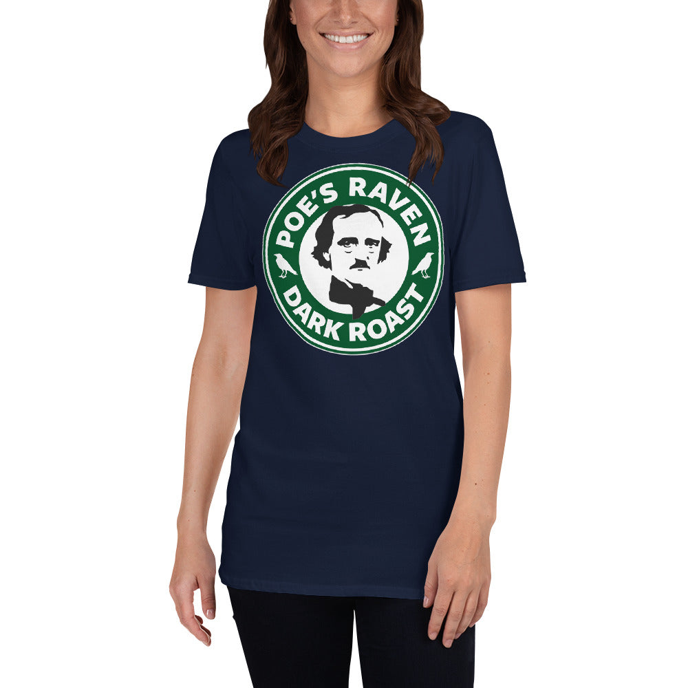 Edgar Allan Poe Coffee Shop T Shirt