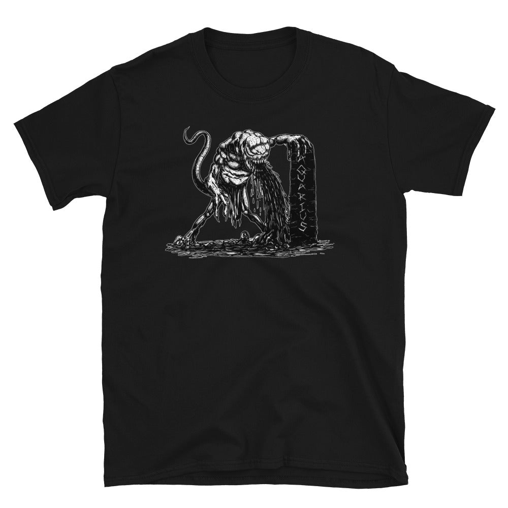 HorrorScopes T Shirt Aquarius Zodiac Design Adult