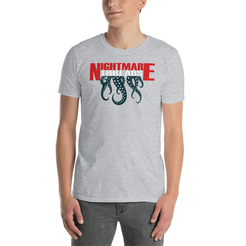 Nightmare Threads Tentacles Adult Horror T Shirt