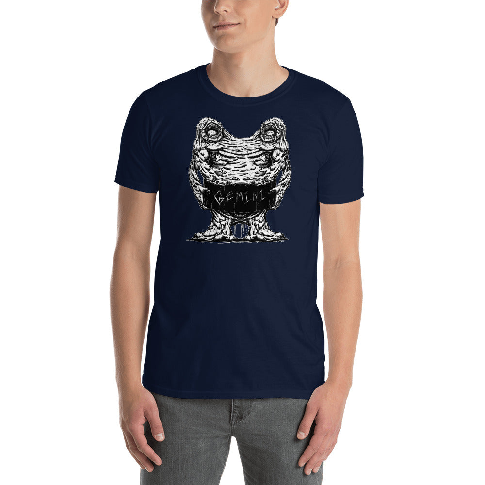 HorrorScopes T Shirt Gemini Zodiac Design Adult