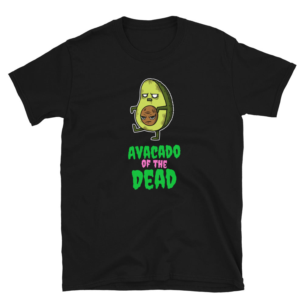 Zombie Bites Avocado of the Dead Funny Horror T Shirt