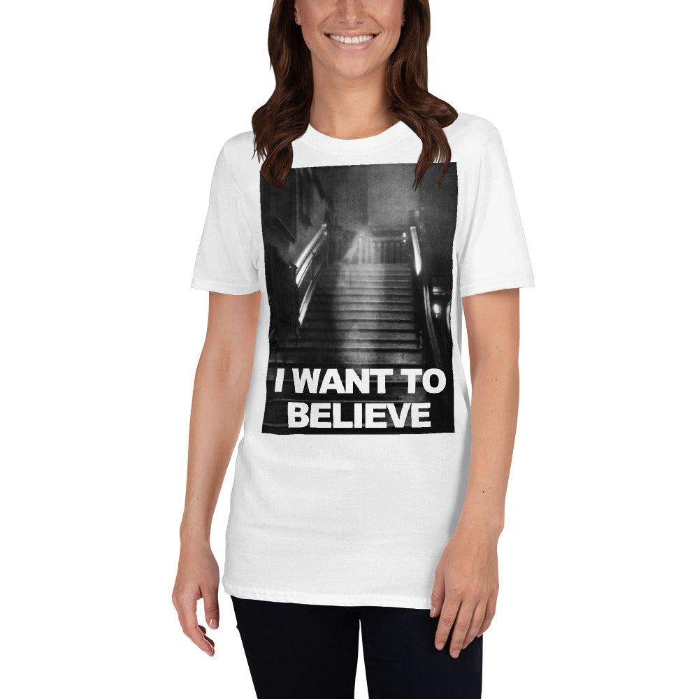Believers T Shirt Ghost Woman Adult