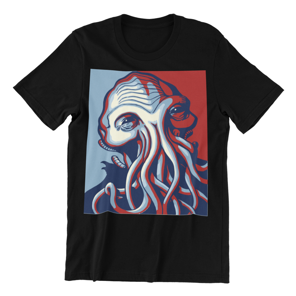 H.P. Lovecraft Cthulhu for President Shirt