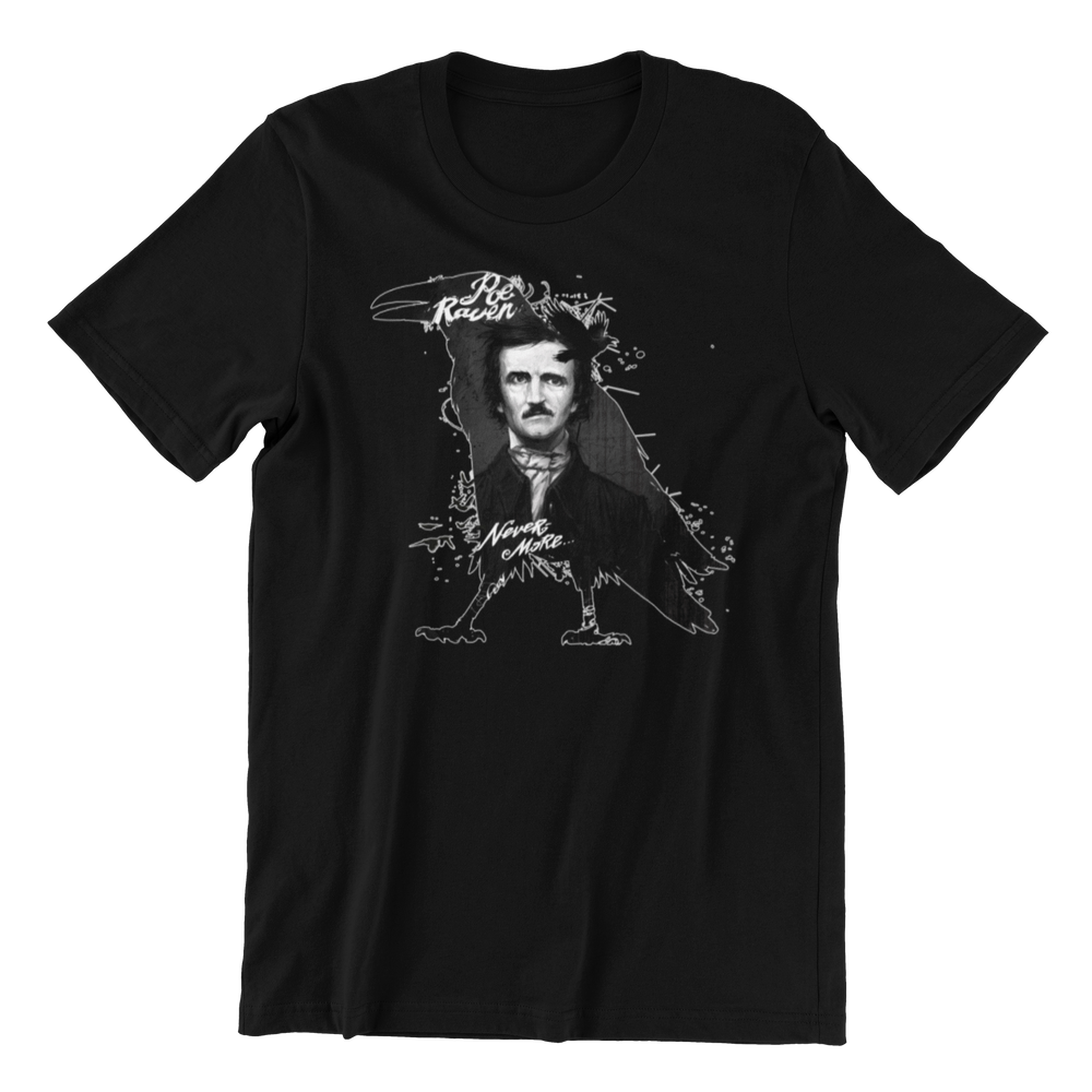 Edgar Allen Poe Quoth the Raven Shirt
