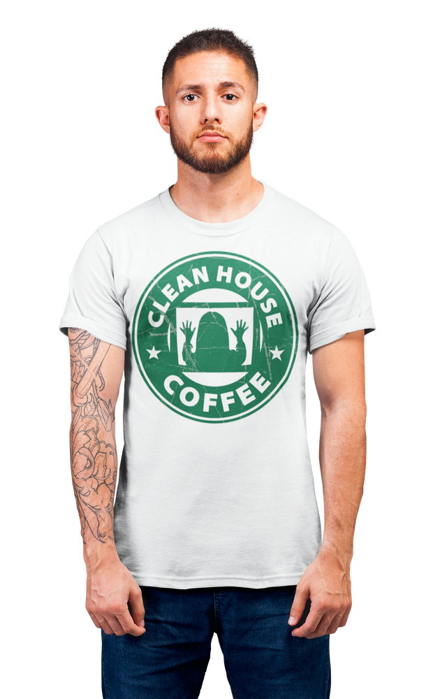 Coffee Shop of Horrors Clean House Coffee Adult Horror T Shirt
